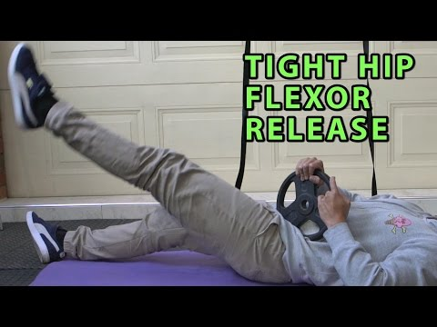 5 Hip Flexor/Psoas Release Techniques | End Back Pain, Bad Posture, Tight Hips