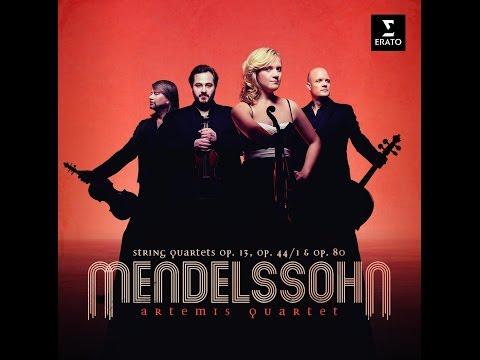 Felix Mendelssohn, String Quartet No. 3 Op. 44 No. 1, Artemis Quartet