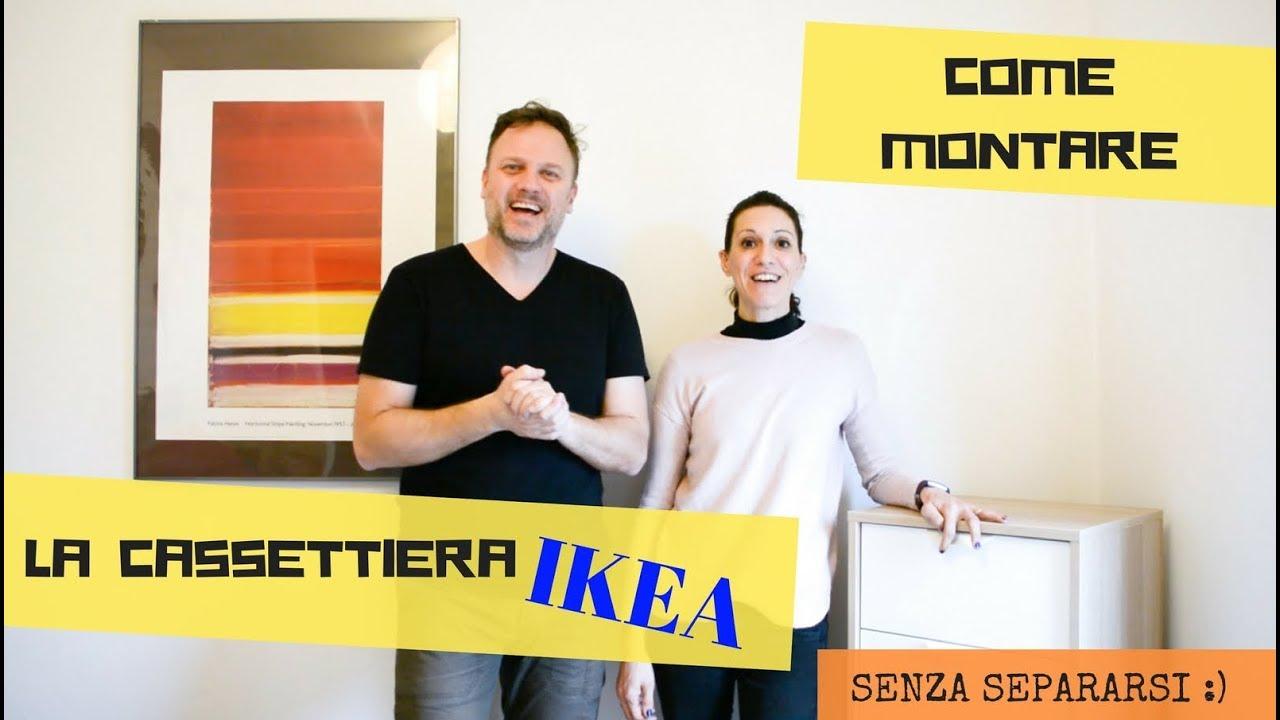 Ikea Hemnes Cassettiera Rossa.Come Montare Una Cassettiera Ikea Senza Separarsi Youtube