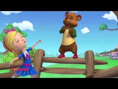 Goldie and Bear - Magic Dancing Feet | Official Disney Junior Africa