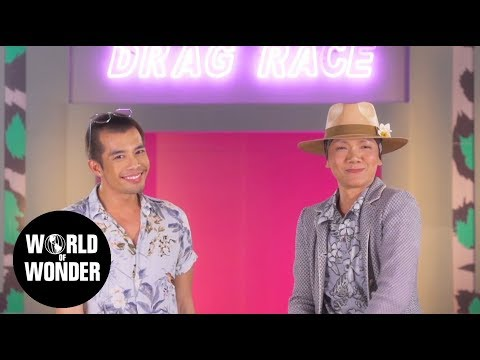 Drag Race Thailand - Interview with Art-Arya & Pangina Heals