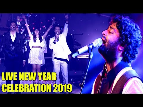 LIVE Bollywood NEW YEAR CELEBRATION 2019 Performance | Arijit Singh, Neeti Mohan, Salim–Sulaiman