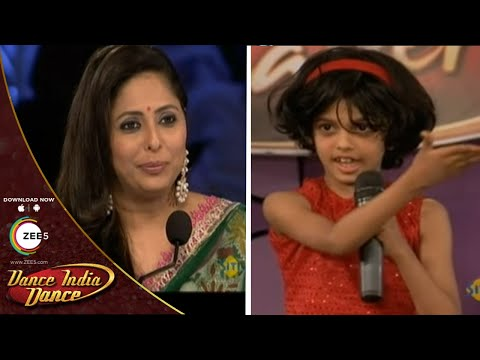 Shreya Acharya AUDITION With FULL Masti - DID L'il Masters