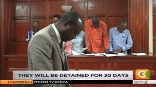Five Dusit attack suspects arraigned in court