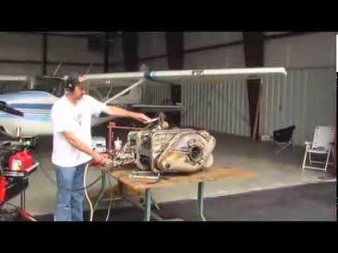 Garrett Turbine Test Run