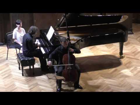 Людвиг ван Бетховен - Соната для виолончели и фортепиано №2 соль минор