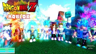 ROBLOX DRAGON BALL RAGE - SUPER SAIYAN BLUE!!! - Español
