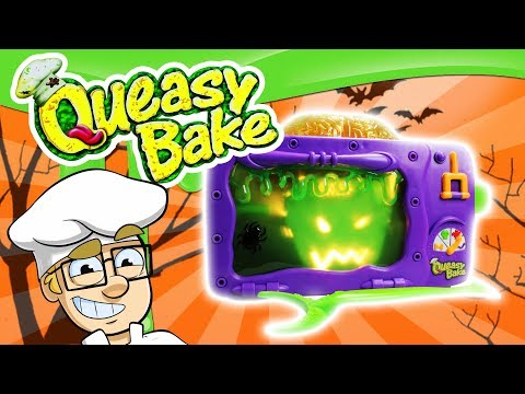 Cooking With Queasy Bake Oven