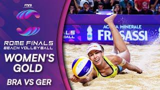 Women's Gold Medal: BRA vs. GER | Beach Volleyball World Tour Finals Rome 2019