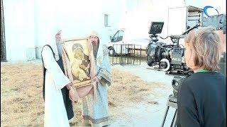 В Великом Новгороде продолжаются съемки документального фильма «Рюриковичи»
