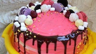 Градиентный торт|Торт для принцессы|Ошибки при создании