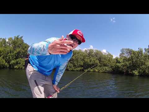 Fly Fishing Tip For Baby Tarpon - 2 O'CLOCK! // Become A Better Flats Boat Angler
