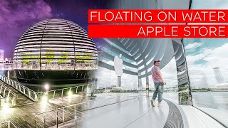 FLOATING??!! Apple Store Marina Bay Sands Tour