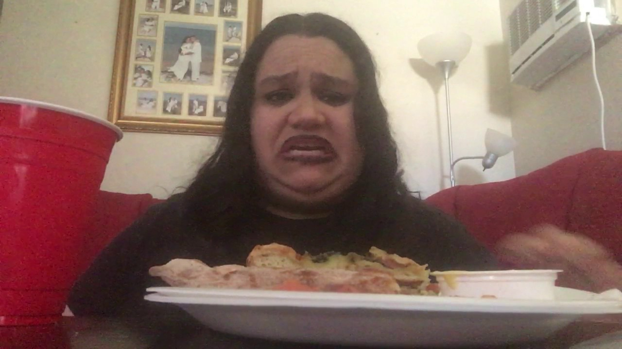 Asmr Mukbang Eating Show Papa John 39 S Garden Fresh Pizza Chicken Spinach Alfredo Youtube