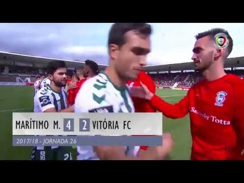 Marítimo 4-2 Setúbal (26ªJ): Resumo