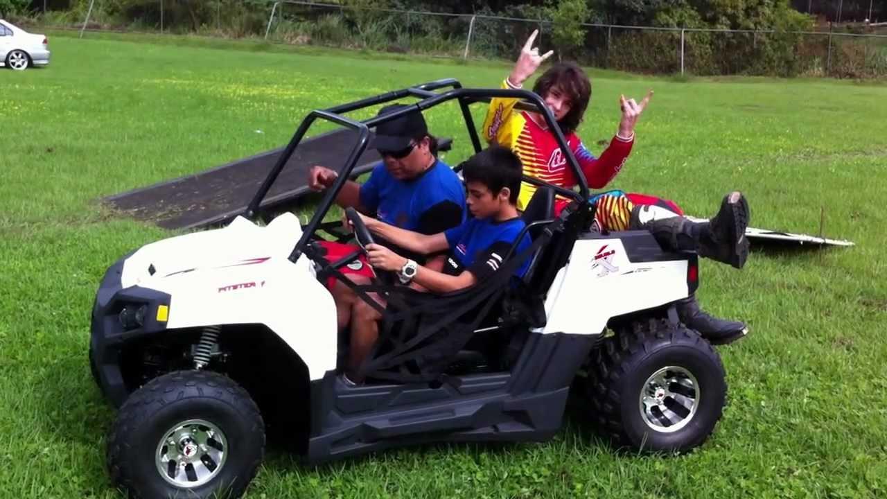 Carmonax Com Pitsterpro Utv Mini Mula150cc Test Ride Youtube