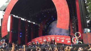 Coldplay- Amazing Day (LIVE DEBUT)/Global Citizen Festival/Central Park, New York/09-26-15