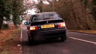 BMW E36 328I Coupe Straight pipe / Silencer Delete Exhaust Acceleration, Backfire & Wheelspin