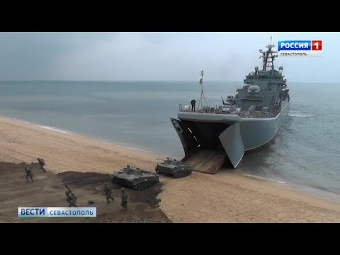 Масштабные учения военнослужащих ЮВО проходят в Крыму