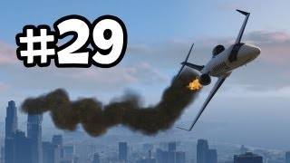Grand Theft Auto 5 Part 29 Walkthrough Gameplay - Caida Libre  - GTA V Lets Play Playthrough