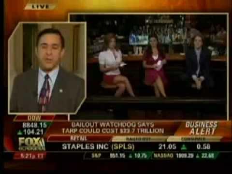 Rep. Issa: TARP Could Cost $23.7 Trillion!?!