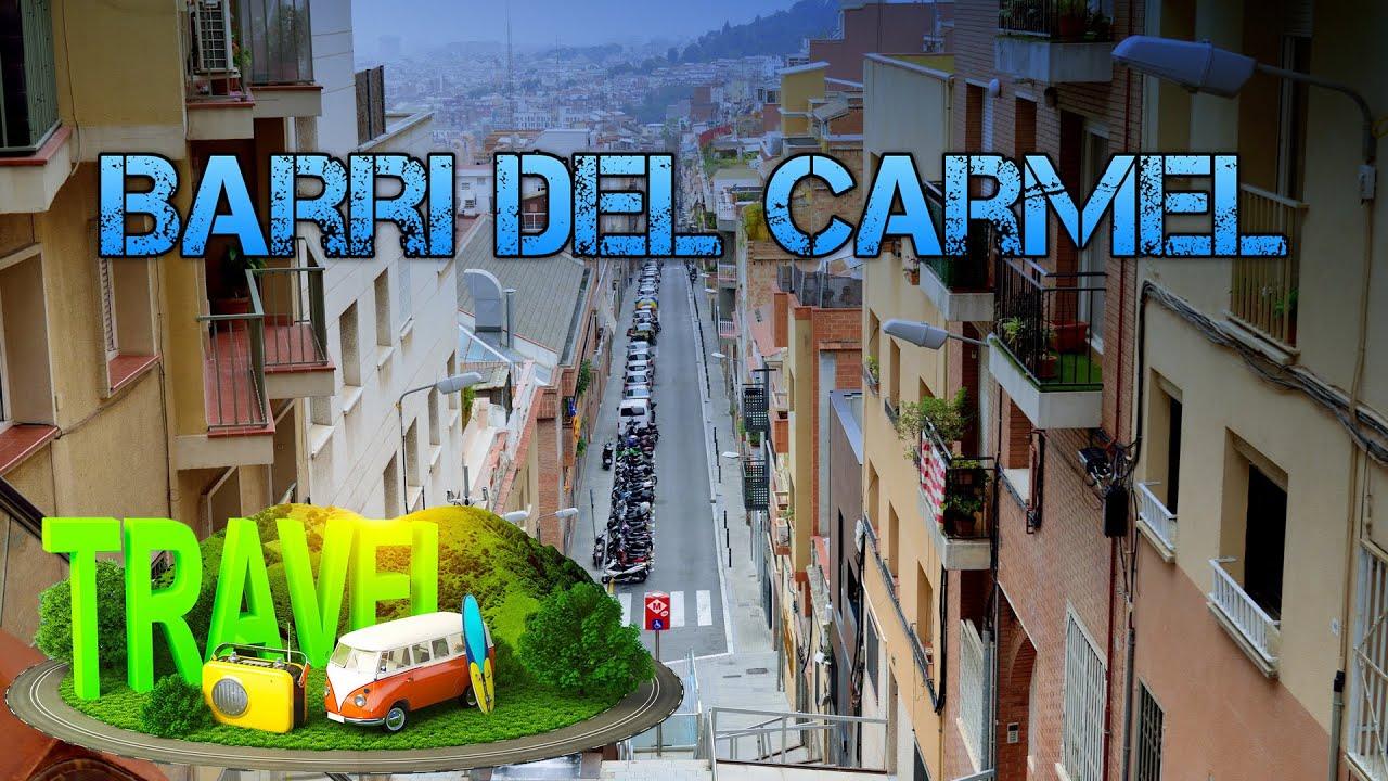 Barri Del Carmel Barcelona Hd 1080p50