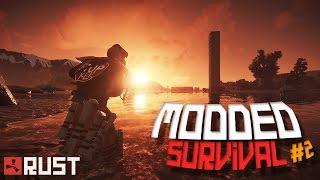 "Rust - ""WORLD'S WORST RAIDERS!"" (Modded Survival #2)"