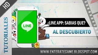 Line app - 09 Cosas ¿Que Quizás No Sabías? y Que Te Puede Interesar screenshot 3