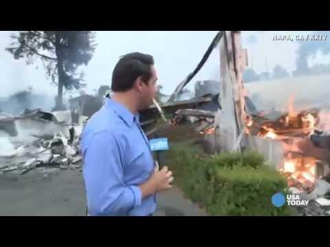 Napa Earthquake: Damaged Water Mains Hurt Fire Efforts