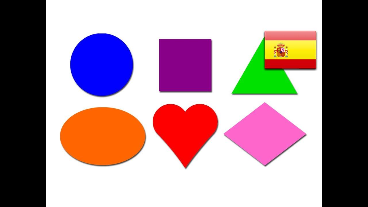 Shapes Lesson Spanish Lesson 06 Clip Learn Easy Shape Names Espanol Figuras Circulo
