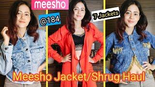 Meeso Haul | Meesho Affordable Jacket/Shrug Haul | Meesho Western Wear Haul | Meesho Tops Haul