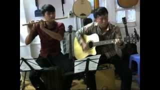 ÂM THẦM BÊN EM (SƠN TÙNG MTP)- SONG TẤU GUITAR - SÁO TRÚC - HỢP ÂM CỰC CHUẨN