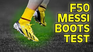 Testing messi boots: adidas f50 test & review | freekickerz