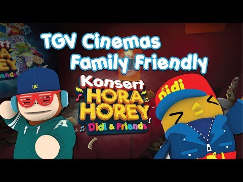 Konsert Hora Horey Didi & Friends di TGV Cinemas Family Friendly