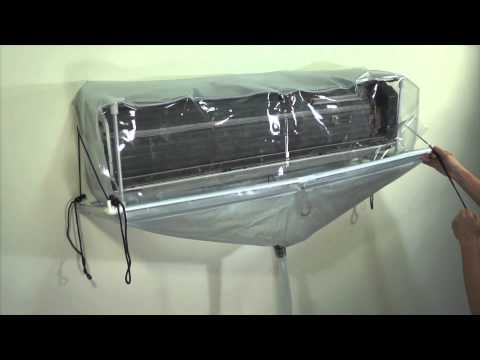 "King Pump "" Closed type of split air conditioner cleaning cover "" DIY and Professional"