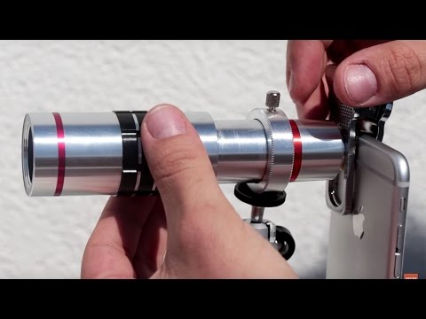 iPhone 7 Hediyeli 18X Zoom Yapabilen Akıllı Telefon Lensi İncelemesi