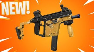 "NEW! ""HORNET SUBMACHINE GUN"" GAMEPLAY in Fortnite! How to Get New Hornet SMG (Fortnite Gun Update)"