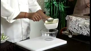 Learn how to make chilled cucumber soup