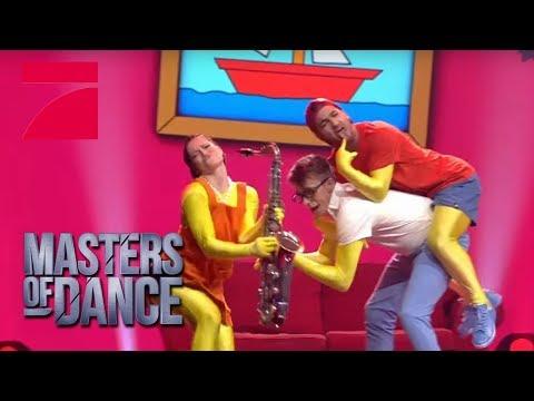 The Simpsons Dance - Vinzenz Anita & Dennis   Masters of Dance  Finale  ProSieben