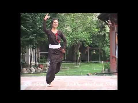 Newar Song (Best romantic newar dance song) - Likka waya - at Mha Mha Nite 2014.Newari dance-Rumi-