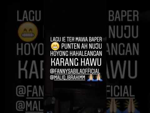 Cover KARANG HAWU Fanny Sabila feat Maliq ibrahim