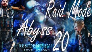 Resident Evil Revelations Raid Mode Abyss Stage 20 (Co Op)
