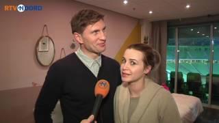 Harde muziek verpest romantische nacht Evgeniy Levchenko en Victoria Koblenko - RTV Noord