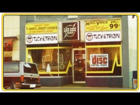 VINTAGE RECORD SHOP - LAID BACK RECORDS Former Location MASSILLON OHIO