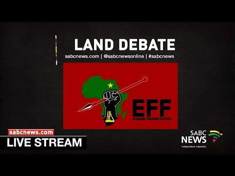EFF briefs media following adoption of land reform report