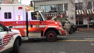 ULTIMATE VIDEO OF WASHINGTON DC & SURROUNDING AREA EMERGENCY SERVICES RESPONDING & STAGING IN DC.