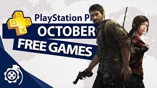 PlayStation Plus (PS+) October 2019
