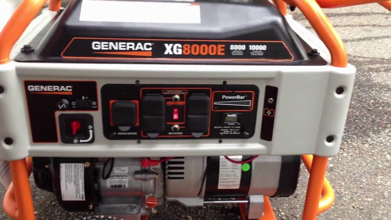 maxresdefault generac xg8000e, xg8000 portable generator review 8000 watts youtube generac xg8000e wiring diagram at mifinder.co