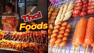 Thai Street Food in pattaya - Yummy Kadafi and Tasty Pan cakes
