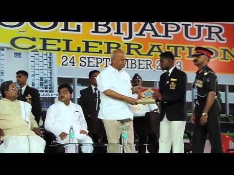 Sainik School Bijapur- Shri  MB Patil & Shri SR Patil, Ministers felicitated